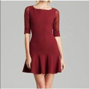 Elizabeth and James maroon dress, sz. 4